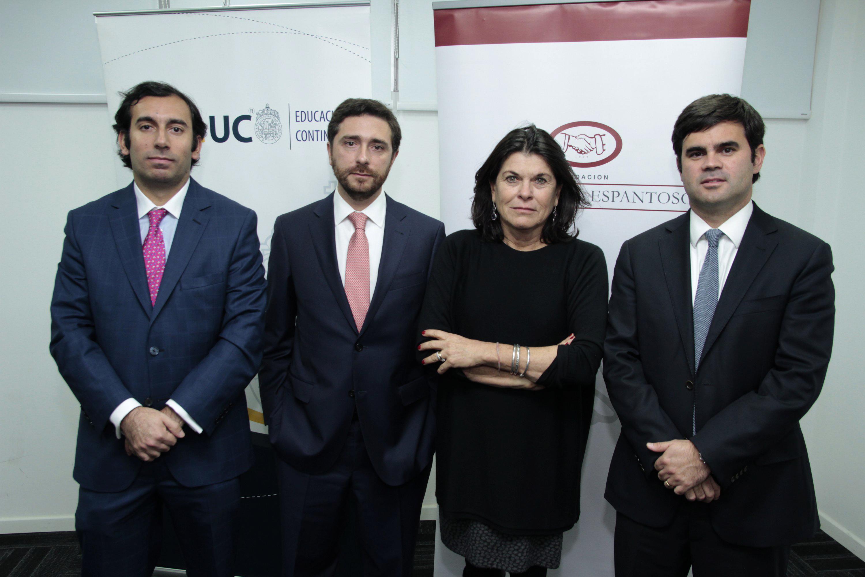 Fernando Árab., Luis Parada, Maria Isabel Vial, Carlos alberto Figueroa